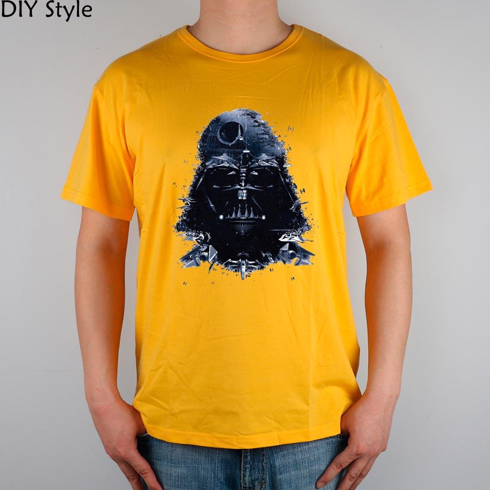 712436884 Star Wars Darth Vader aircrafts camiseta Top lycra algodón hombres camiseta  nueva diseño alta calidad digital inkjet impresión