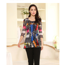 high quality 100% silk female round neck short sleeve shirt lace flounces silk mesh brand designer women shirts blouses-b151