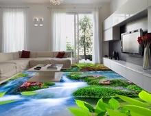 D muurschildering waterval vloeren koop goedkope d