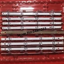 100% New 0riginal 8 adet/takım LED arka işık şerit bar LG LC420DUE 42LB3910 INNOTEK DRT 3.0 42 inç A B 6916L 1709A 6916L 1710A