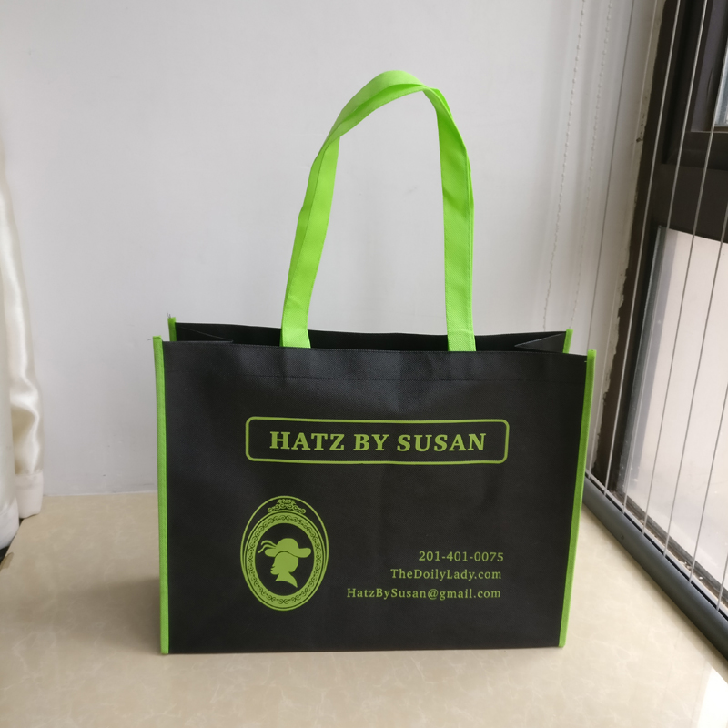 wholesale 500pcs lot 30x40Hx15cm Reusable Non woven shopping bags with logo promotional gifts customize logo tote