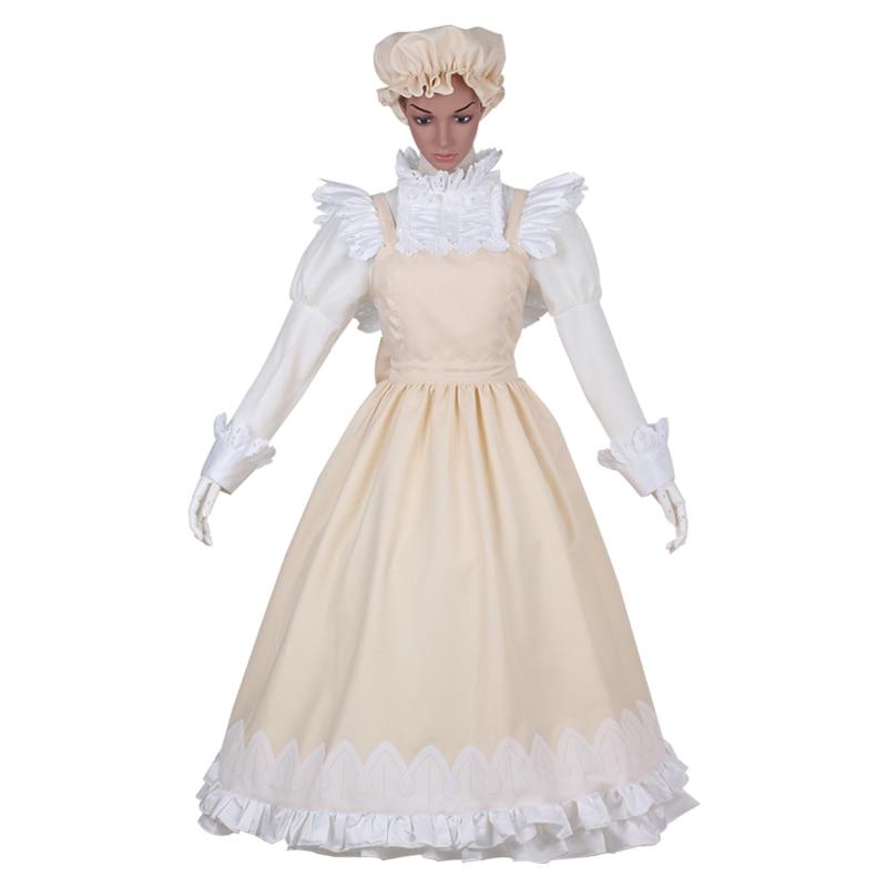 new Hot Anime Hataraku Saibou Maid Costume Lolita Dress! Cells at Work Macrophages Cell Cosplay Dress Set Women Girl Halloween