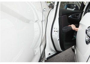 Image 2 - 5 메터/갑 범용 자동차 도어 엣지 가드 트림 스타일링 몰딩 보호 스트립 스크래치 보호대 차량용
