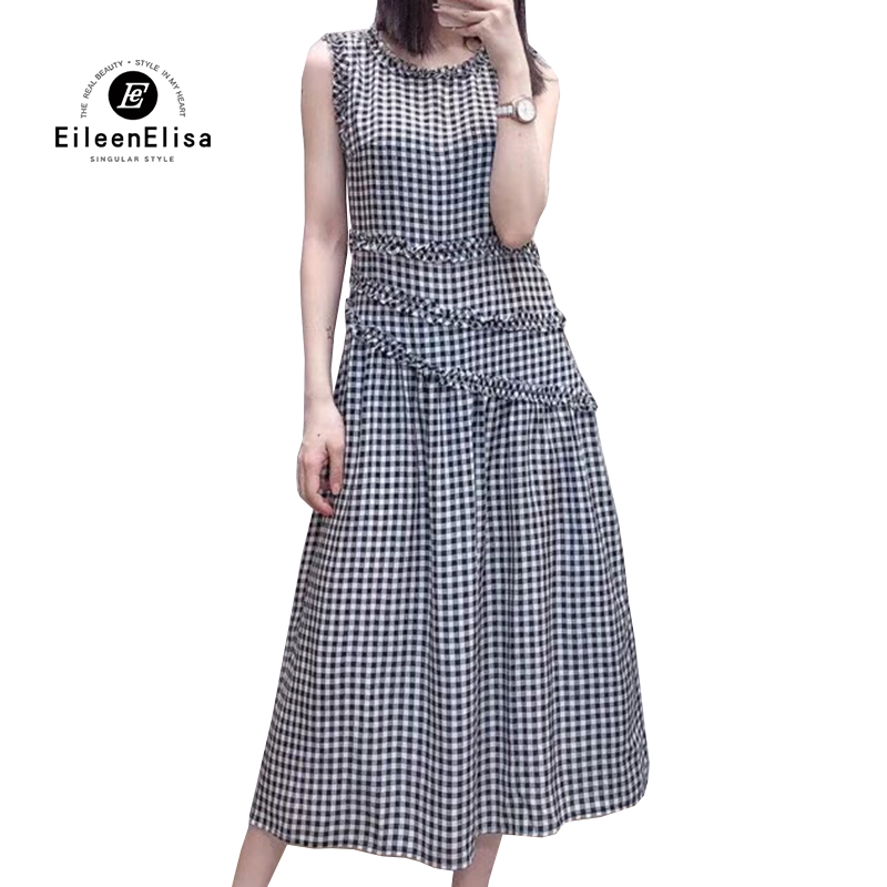 2019 Luxury Dress European Women Silk Dresses Women Elegant High Quality Summer Brand Designer Dresses with O neck Collar