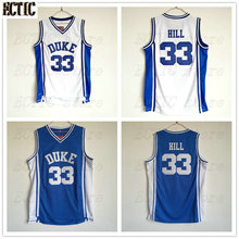 5d4f07f735a 2018 ECTIC Wholesale Mens Cheap Throwback Basketball Jersey  33 Grant Hill  Jersey Duke University Stitched