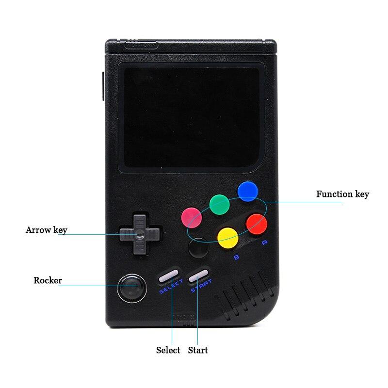 Nouveau 2.0 rétro lcl-pi Raspberry Pi pour jeu garçon Console de jeu portable jeu portable classique lecteur de jeu vidéo Raspberry Pi 3B/A + - 2