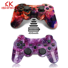 KISHAKO Bluetooth Controller For SONY PS3 Gamepad For PlayStation 3 Wireless Joystick For Sony Playstation 3 PC SIXAXIS Controle цена