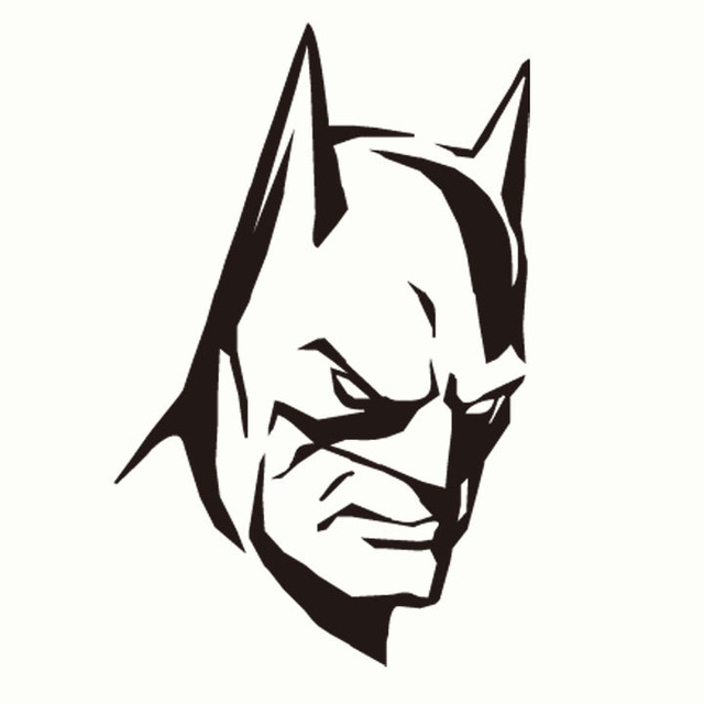 Best Ing Handsome Bat Face Hot Cars Interior Sticker For Custom Designs Car Styling Accessories Refit Motorcycle Decoration