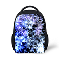 Hot Snowflake Printing Backpack for Kids Kindergarten Canvas Bagpacks Christmas Gift Girls Baby School Backpack Bolsas Mochilas