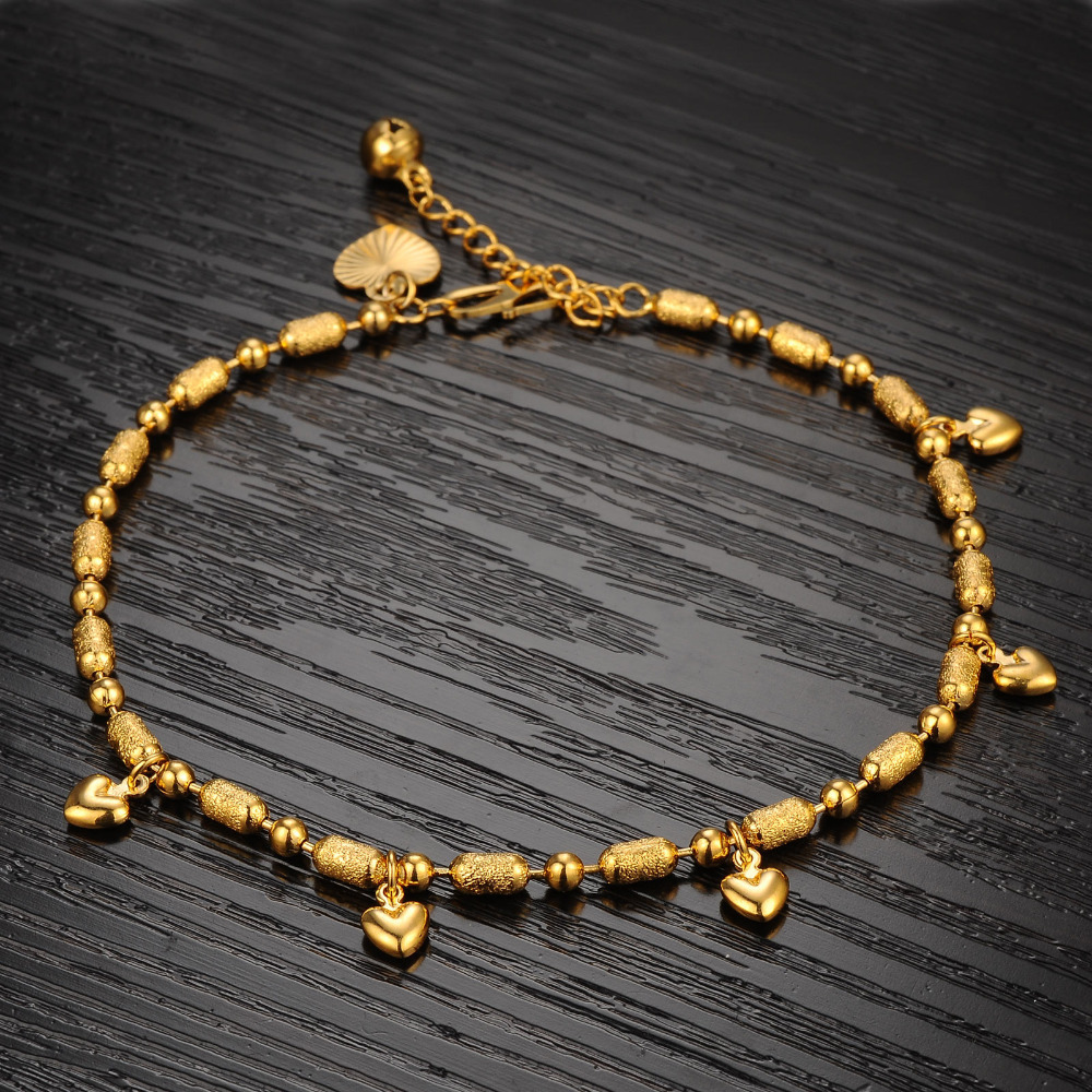 Fate Love Classic Charm New Design Gold Color Women Girl Hearts ...