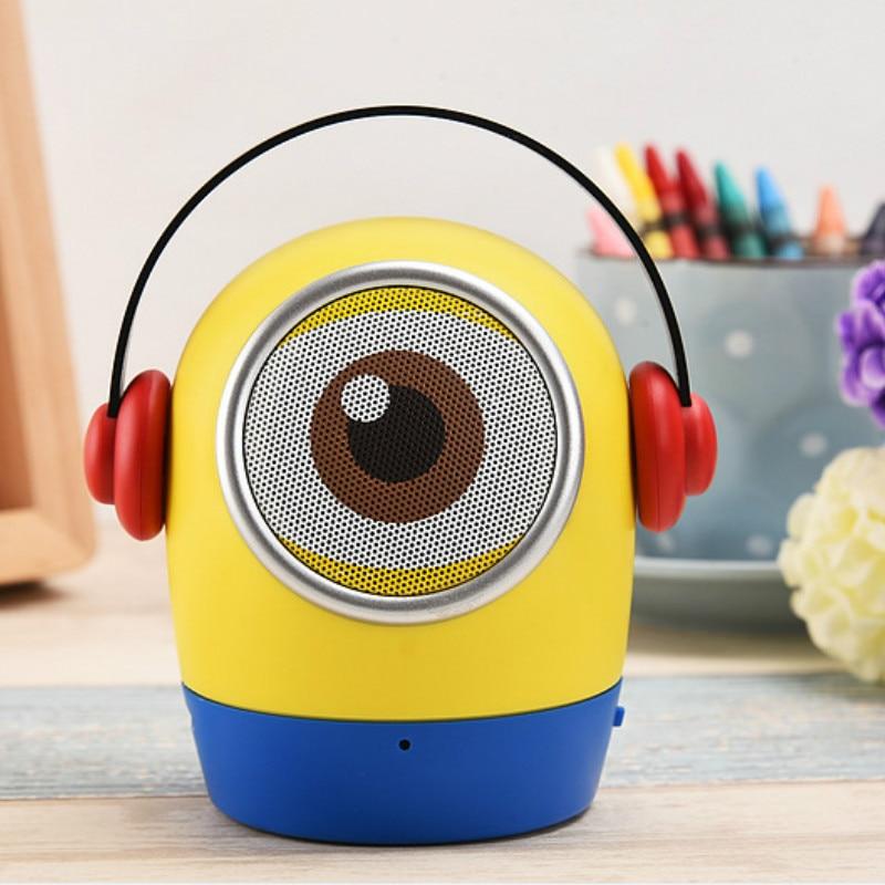 2017 New Mini Speaker Bluetooth Speaker Portable Speaker TF Card Wireless Speaker for Kids Children Cartoon