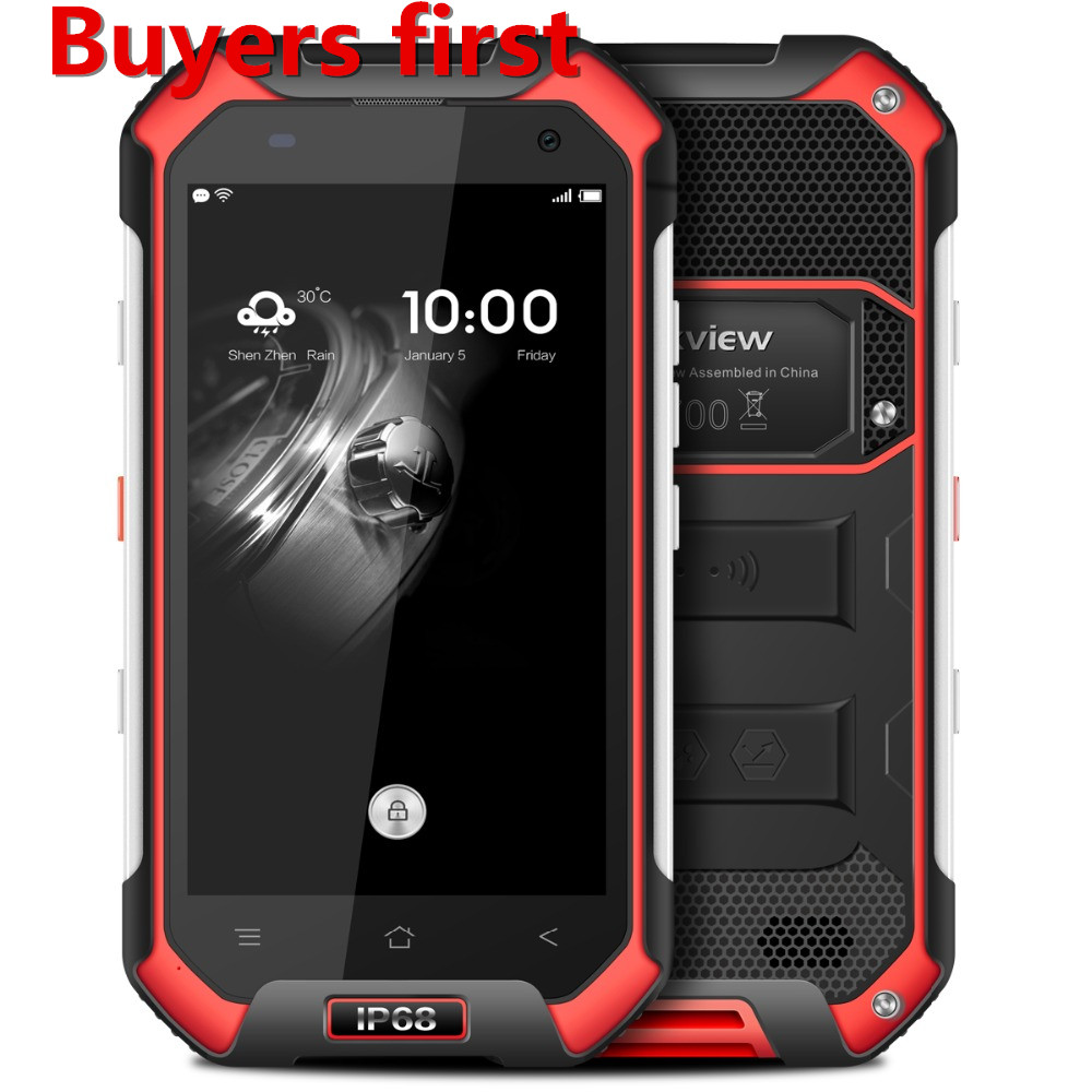 original Blackview BV6000 4G Mobile Phone 4 7 MT6755 Octa Core Android 6 0 3GB RAM