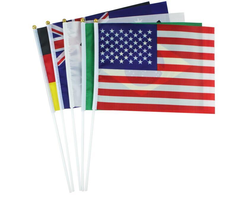20*30 Cm Flags Alle Die Welt Ländern Kleine Flagge 1 Stück
