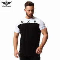 Brand Men S Muscle T Shirt Bodybuilding Fitness Men Tops Cotton Singlets Plus Big Size TShirt