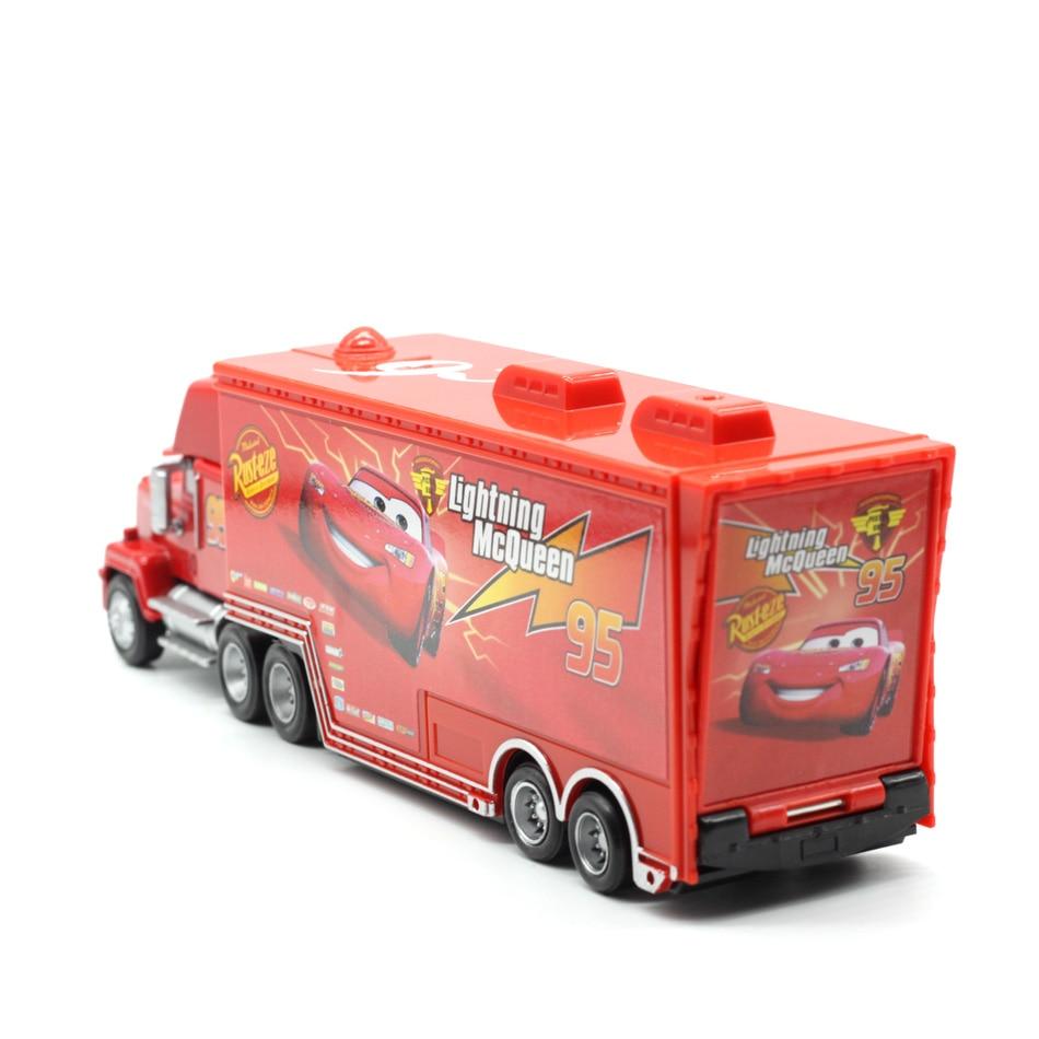 Makina Disney Pixar 2 3 No. 95. Rrufeja McQueen Mack Truck Uncle - Makina lodër për fëmije - Foto 4
