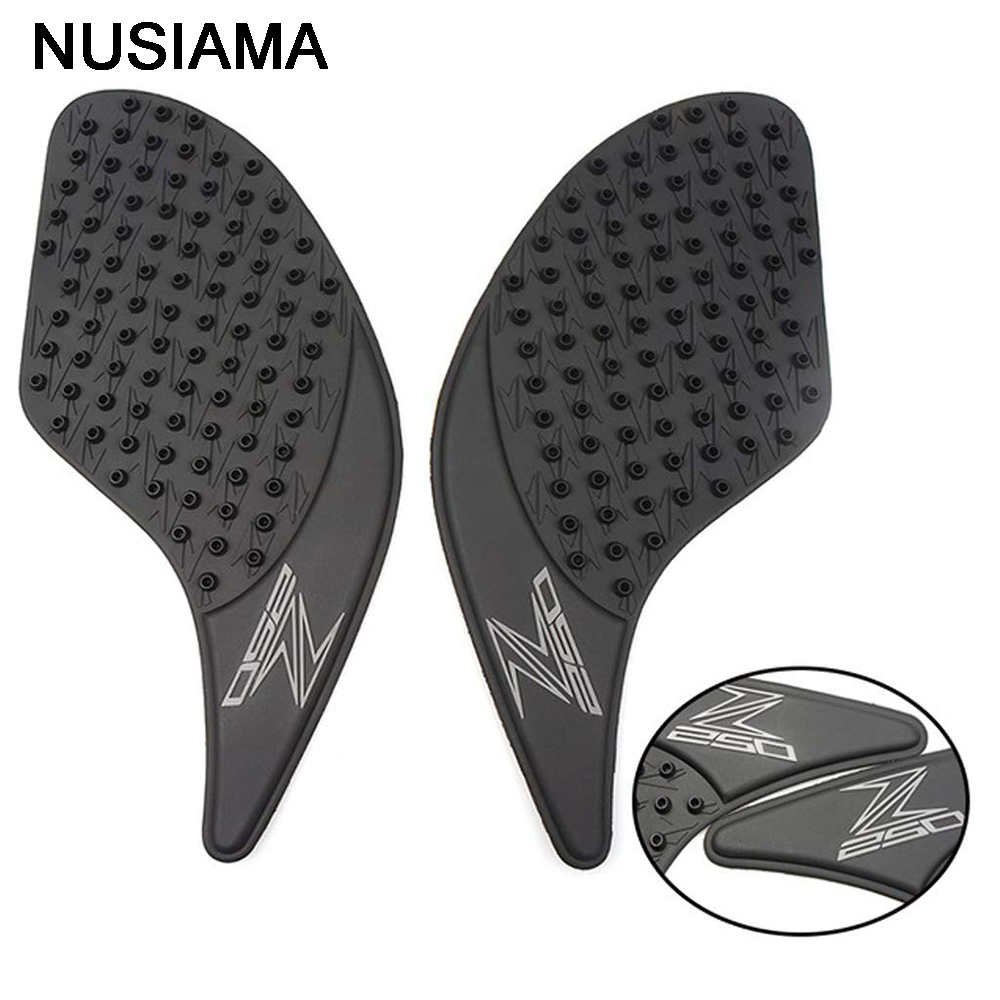 Motorcycle Tank Pad Rubber Protector Sticker Decals Racing Gas Fuel Knee Grip Traction Side Stickers For Kawasaki Z250 2013-2016 Motorcycle Accessories & Parts