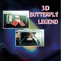 Free Shipping! 3D Butterfly Legend Magic tricks,The Most aesthetic effect,Stage,Accessories,illusions,street magic