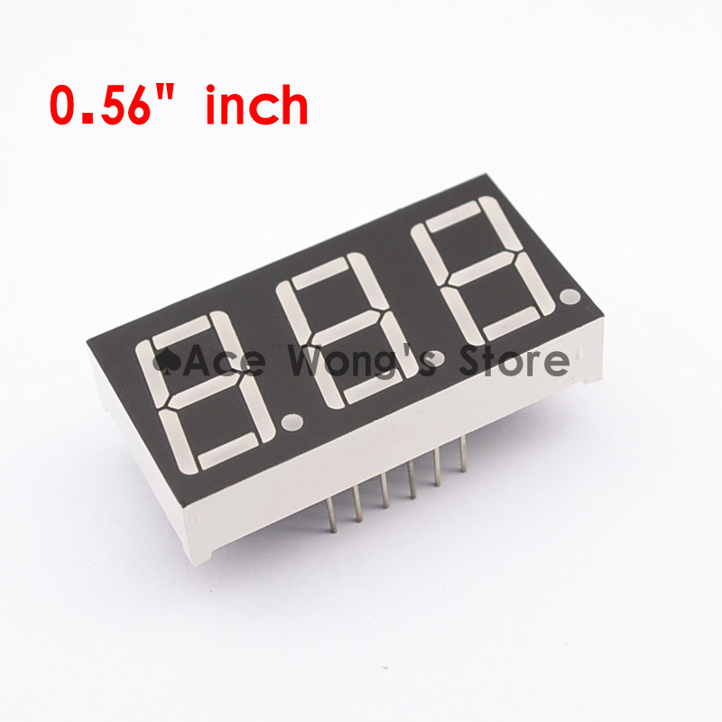 yellow Equipment 3pcs 28 Seg 30mm Led Bargraph Display Common Anode