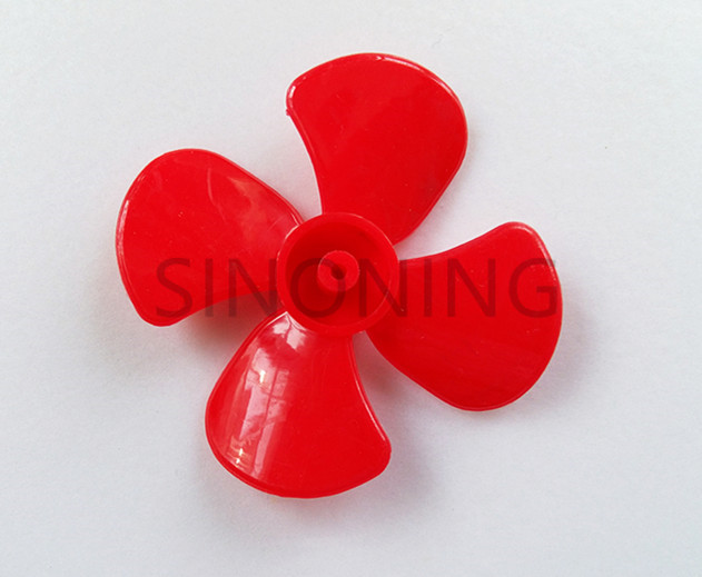 10pcs 60mm diameter four-leaf propeller model paddle DIY tight fit 2MM shaft image