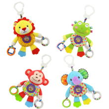 Baby Toys Stroller Pendant Crib Hanging Doll Newborn Soft Plush Puzzle Cognitive for 0-24 Months