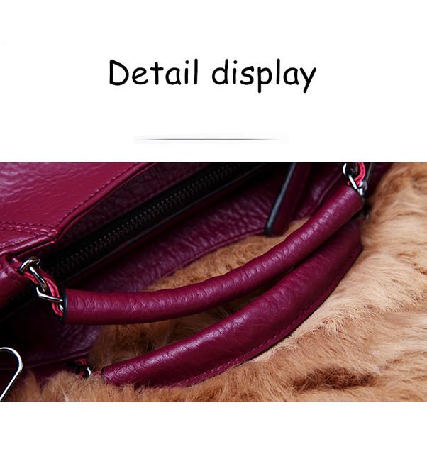 Women Handbag Women Leather Handbag Casual Women Shoulder Bag Fashion Female Tote luxury brand bag women Crossbody Bags SW0194