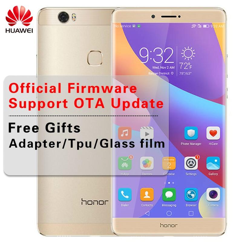 Huawei Honor Note 8 Kirin 955 Octa Core экран 2k мобильный телефон 4 ГБ 64 ГБ/128 Dual SIM дюймов 6,6 дюймов Quick Charge 9 В в/2A