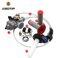 ZSDTRP PZ30B TTR250 Tuning Tuned Power Jet For Keihin 30mm Carburetor Visiable Twister Cable Repair Kit Grips CG125 CG150 CG250