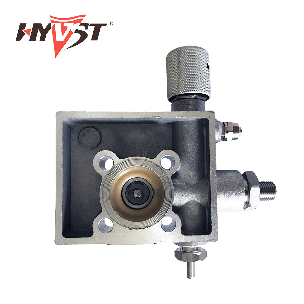 HYVST spray paint parts Pump head assembly for SPT1250-310 19011000 hyvst spare parts prime spray valve for spx150 350 1501013