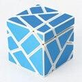 Blanco Cuerpo 3x3x3 Velocidad Cubo Cubo Mágico Puzzle Juego Fantasma Juguetes Para Niños Con un titular