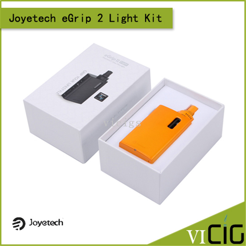 100% Original Joyetech eGrip II Light VT Kit All-in-One 80W Kit 2100mah Battery Box Mod Vape 3.5ml Atomizer Tank