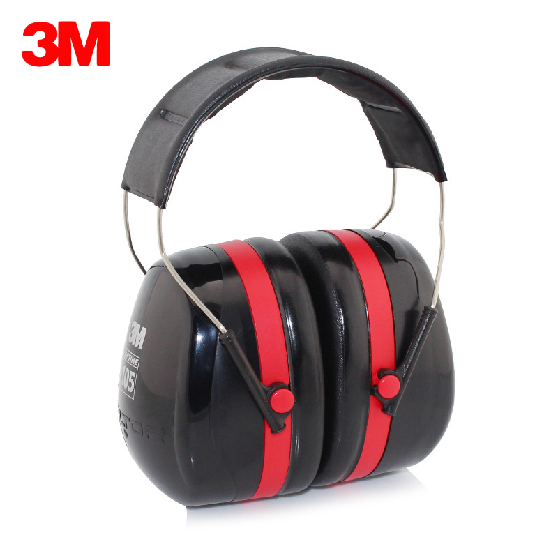 3M H10A Protective Earmuffs Professional Anti noise Ear Protector Sound Insulation Noise Reduction Hearing Protection Ear