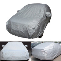 Full Car Cover Indoor Outdoor Sunscreen Heat Protection Dustproof Anti UV Scratch Resistant For Sedan Car