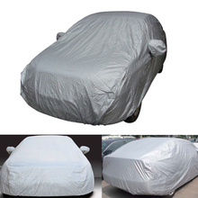 Full Car Cover Indoor Outdoor Sunscreen Heat Protection Dustproof Anti-UV Scratch-Resistant for Sedan Car Protectors SuitM