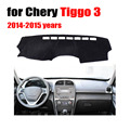 Car dashboard pad For Chery Tiggo 3 2014-2015 years left hand drive dash cover Instrument platform desk pad car accessories
