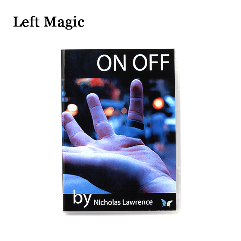 On / Off (DVD+Gimmick) Magic Trick On Off By Nicholas Lawrence And SansMinds Magic Props Street Close Up Magic Stage Mentalism