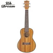 Mini Guitar 23 inch 18 Zebra Wooden Closed Knob Ukulele Small Hawaii Guitars 4 String Musical Instruments ukelele UC-22J