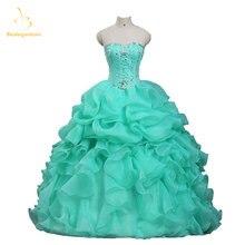 Женское бальное платье bealegantom мятно Голубое Бальное с бисером