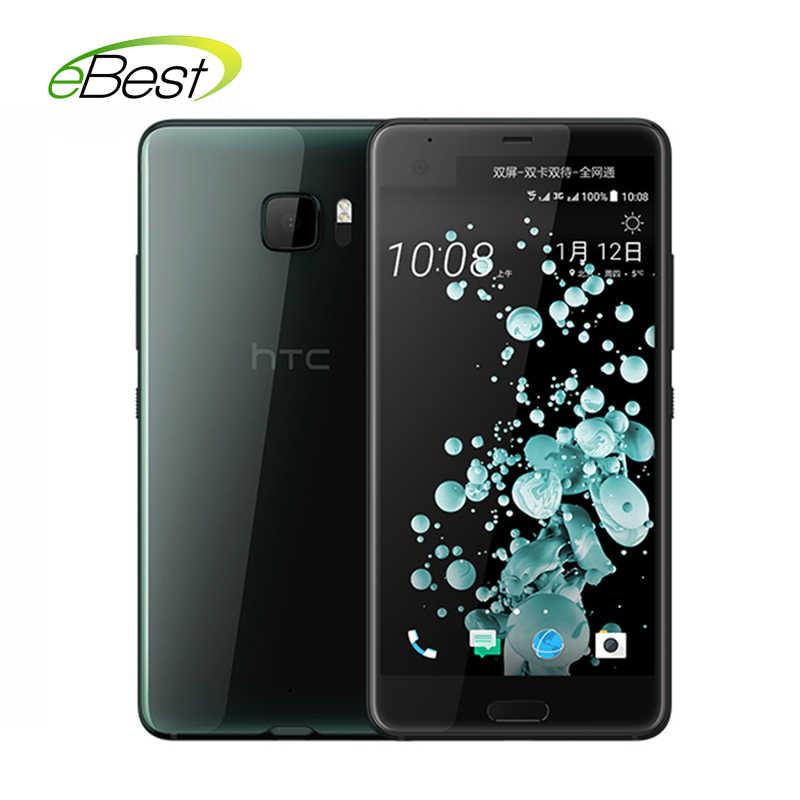 "HTC U Ultra téléphone portable 5.7 ""2 K écran 2560X1440 Qualcomm Snapdragon 821 empreinte digitale 4GB RAM 64GB ROM NFC Smartphone Android"