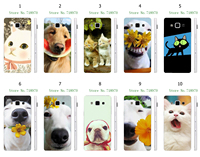 Online-Custom Hot 1pc cute cat and dog Protective White Hard Plastic Case For samsung Galaxy A5