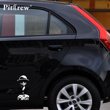 One Piece Car Stickers Decal 19*9cm