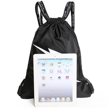 Drawstring pocket backpack male drawstring fitness sports training bag female simple light storage
