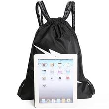 Drawstring pocket backpack male drawstring fitness sports training bag female simple light storage