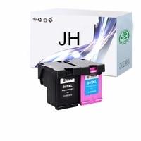 2 Pack Compatibel 301XL Inkt Cartridge Vervanging voor HP 301 XL CH563EE CH564EE voor Deskje 1000 1050 2000 2050 2510 3000 3054