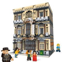 XingBao 5052Pcs Creative MOC City Street view The Maritime Museum Set Children Building Blocks Bricks DIY Toys Model Gifts недорого
