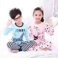 Crianças conjuntos de roupa interior térmica Outono inverno dos desenhos animados Hello Kitty meninos meninas cueca johns longo roupa das crianças roupa dos miúdos