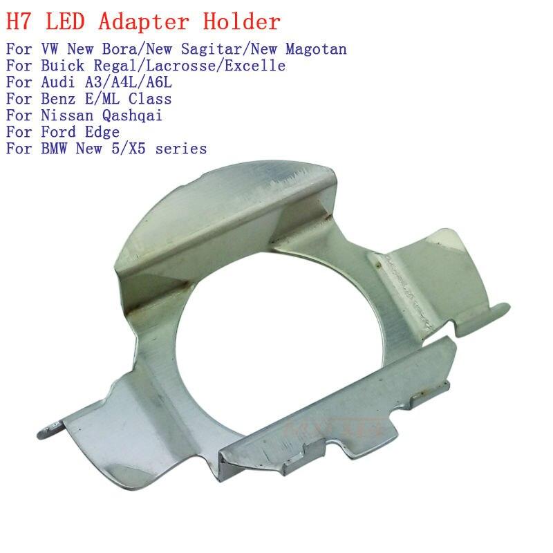 H7 LED Adapter Halter Stecker Umwandlung Birne Sockel fürnew Bora Neue Sagitar Neue Magotan Regal Lacrosse Excelle A3 Qashqai