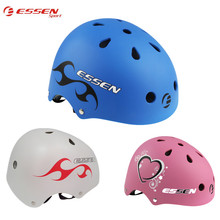 Essen Sport Kids BMX Bicycle Helmet Full Protect Adult Bike EPS+ABS Material Mountain Road Cycling Skating Outdoor Sport Helmets