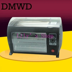 DMWD elektryczny ekspres kiełbasa maszyna do prażenia rolki handlowych Hot Dog Teppanyaki pieczenia Grill Hot Dog Kebab pieczenia cieplej ue wtyczką amerykańską w Pieczenie chleba od AGD na