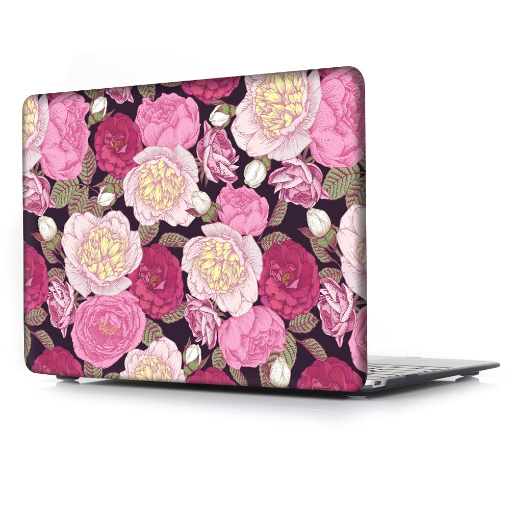 low priced 41659 8dcd7 US $19.99 20% OFF|For Apple Macbook Air 13 Cover Floral Print Plastic Hard  Case For Mac book Pro 13 15 Retina Laptop Case+Keyboard Cover+Dust Plug-in  ...