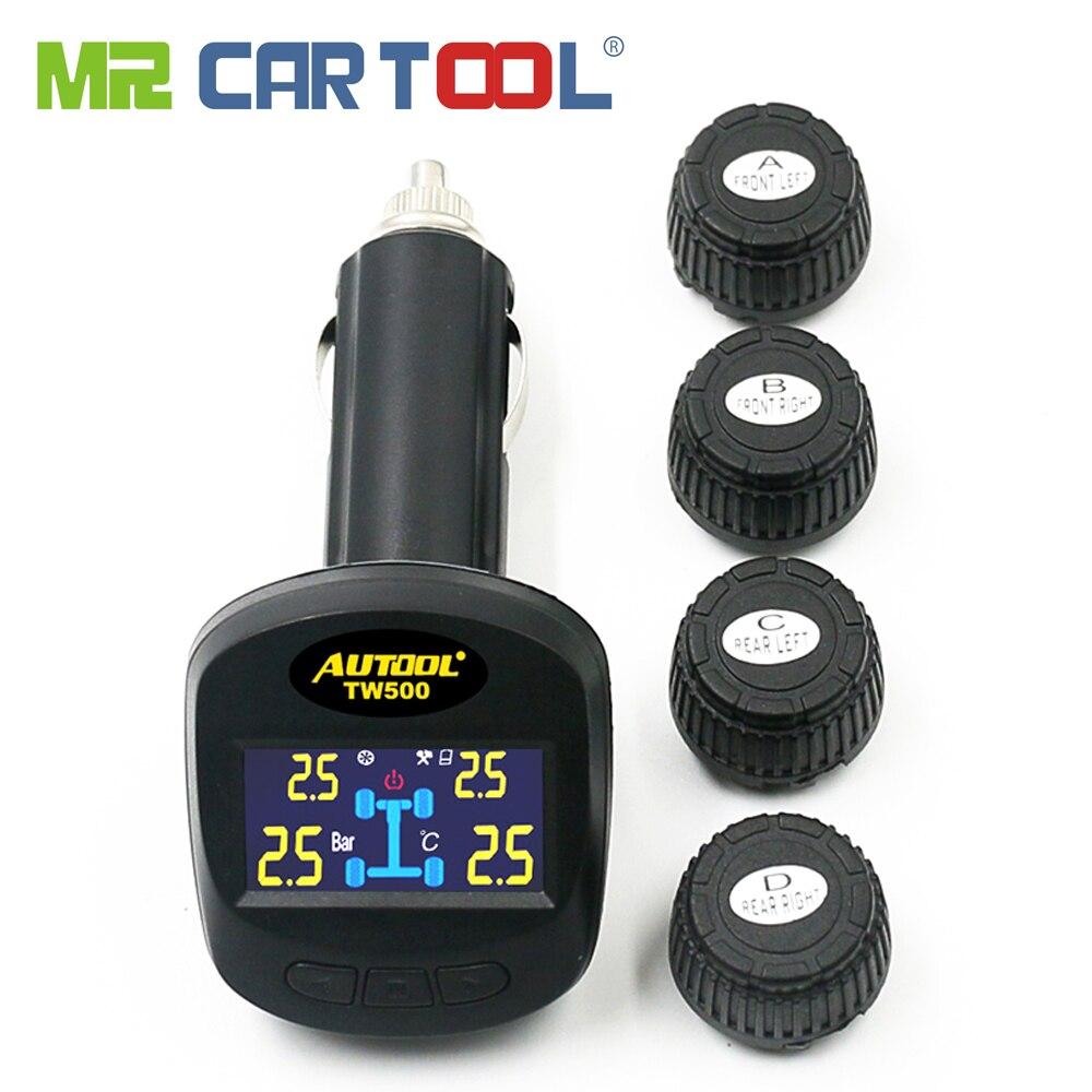 Système de surveillance de la pression des pneus TW500 TPMS avec 4 capteurs externes